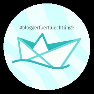 BloggerFuerFluechtlinge Logo