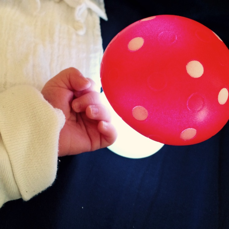 Babyhand Fliegenpilz/ Glückspilz