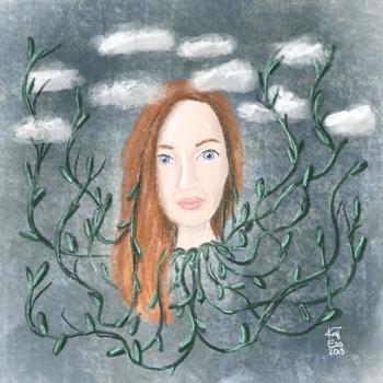 Kathrin Eß Kat Ess Selbstportrait 2019